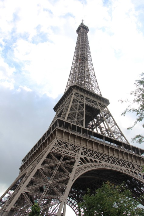 Eiffel up close